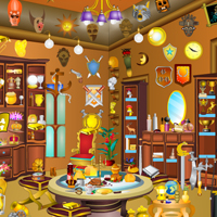 Free online flash games - New Antique Room game - WowEscape