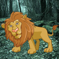 Free online flash games - WowEscape Save the King Lion