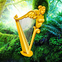 Free online flash games - Fantasy Golden Harp Escape game - WowEscape