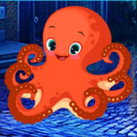 Free online flash games -  G4K Innocent Octopus Escape