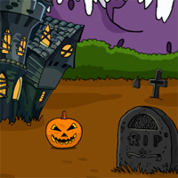 Free online flash games - Games2Jolly Halloween Cat Rescue game - WowEscape