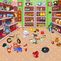 Free online flash games - Toys Shop-Hidden Objects game - WowEscape