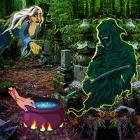Free online flash games - Bigescapegames Graveyard Treasure Escape game - WowEscape