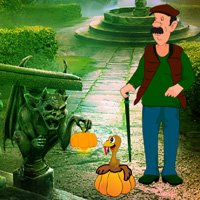 Free online flash games - Pumpkin to Turkey Life Escape game - WowEscape