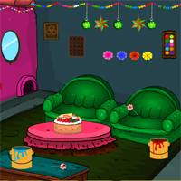 Free online flash games - Games4Escape Xmas House Escape game - WowEscape