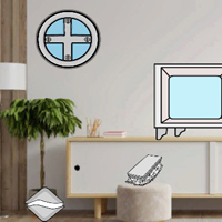 Free online html5 games - G2J Escape From Black And White Modern Room game