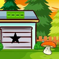 Free online flash games - G2J Forest Cottage Car Escape game - WowEscape