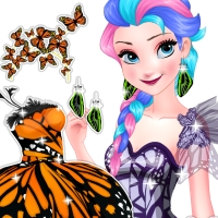 Free online flash games - Elsa Butterfly Queen game - WowEscape
