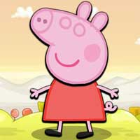 Free online flash games - Jump Peppa Jump game - WowEscape