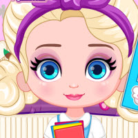 Free online flash games - Baby Elsa Graduation Photoshoot game - WowEscape