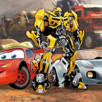 Free online flash games - Cars VS Transformers game - WowEscape