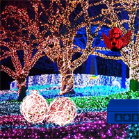 Free online flash games - Wow Christmas Light Park Escape