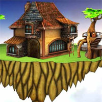 Free online flash games - Mirchi Treasure Recovery in Floating Island game - WowEscape