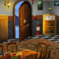 Free online flash games - Ena The Frozen Sleigh-Catholic Priest House Escape game - WowEscape