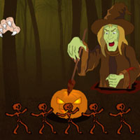 Free online flash games - Wow Scary October Escape game2rule