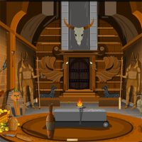 Free online flash games - Egyptian Golden Flower Palace Escape game - WowEscape