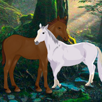 Free online flash games - Find the Horse Love game - WowEscape