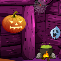 Free online flash games - Games4Escape Halloween Mysterious Door Escape game - WowEscape