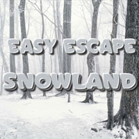 Free online flash games - Easy Escape-Snowland HiddenoGames game - WowEscape