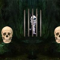 Free online flash games - 8bGames Creepy Cat Escape game - WowEscape