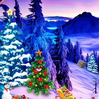 Free online flash games - Top10NewGames Find The Christmas Snowman game - WowEscape
