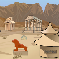 Free online flash games - Games2Jolly Camel Escape From Desert game - WowEscape