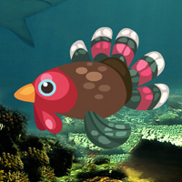Free online flash games - Turkey Fish Escape game - WowEscape