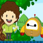 Free online flash games - Boy Robot Adventure game - WowEscape