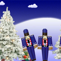 Free online flash games - Elves and Ornaments game - WowEscape