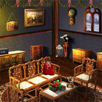 Free online flash games - EnaGames The Frozen Sleigh-The Hill Town Escape game - WowEscape