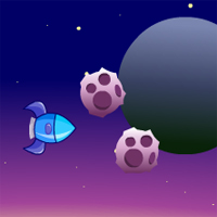 Free online flash games - Rocket Dodge game - WowEscape