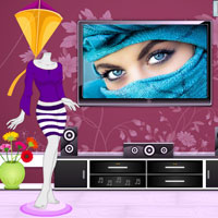 Free online flash games - Rockstar Girl Room Escape game - WowEscape