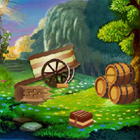 Free online flash games - Top10NewGames Escape From Fantasy World Level 35 game - WowEscape