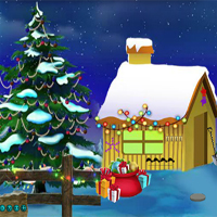 Free online flash games - Christmas Find The Gold Coin game - WowEscape