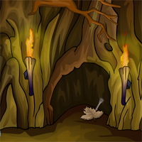 KidzeeOnlineGames Thanksgiving Day Dungen Cave