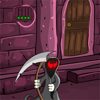 Free online flash games - Games4escape Halloween Nightware Door Escape