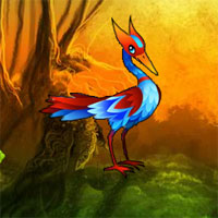Free online flash games - Fantasy Egret Forest Escape game - WowEscape