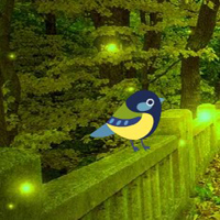 Free online flash games - Fantasy Lighting Forest Escape