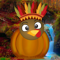 Free online flash games - Turkey Emoji Forest Escape game - WowEscape