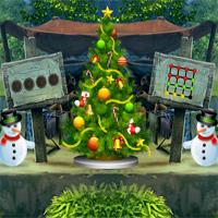 Free online flash games - AngelEscape Santa Cabin Escape game - WowEscape