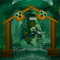 Free online flash games - Masked Forest Escape Games4Escape game - WowEscape