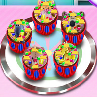 Free online flash games - Animal Cupcakes For Kids game - WowEscape