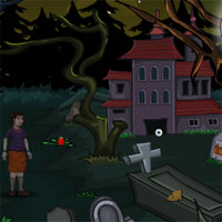 Free online flash games - Halloween Creepy Cemetry game - WowEscape
