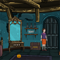 Free online flash games - Halloween Devil Mansion game - WowEscape