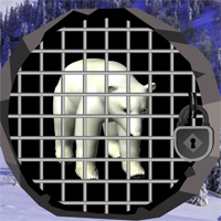 Free online flash games - North Pole Bear Escape game - WowEscape