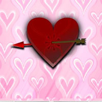 Free online flash games - 8b Valentine House Escape game - WowEscape