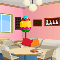 Free online flash games - Easter House Escape game - WowEscape