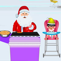 Free online flash games - Santa Holiday Cookies game - WowEscape