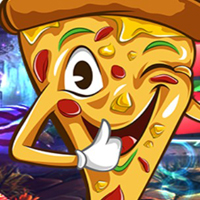 Free online flash games - G4K Gleeful Pizza Escape