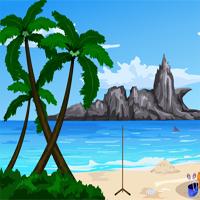 Free online flash games - Games4Escape Valentine Beach Escape game - WowEscape